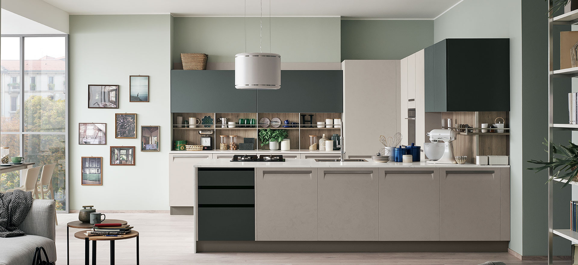 Furniture: kitchens and living rooms | Veneta Cucine