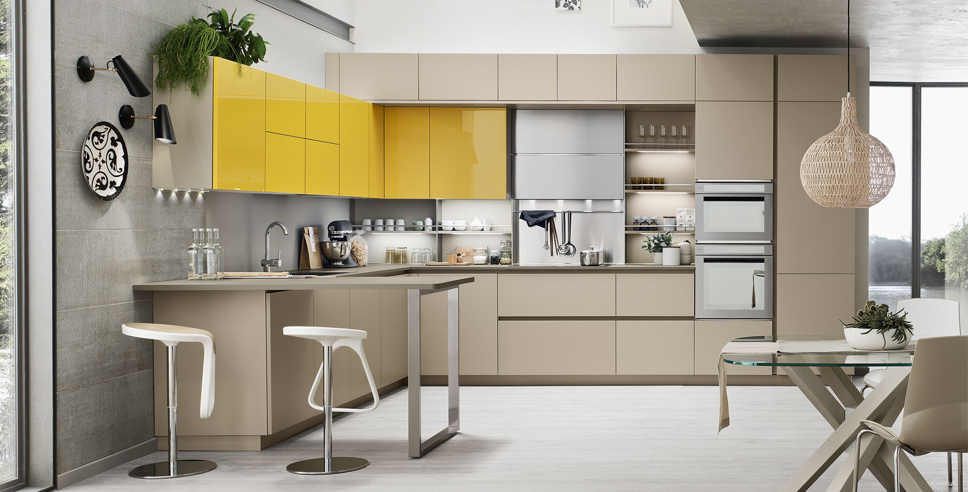 Kitchen Lounge Veneta Cucine