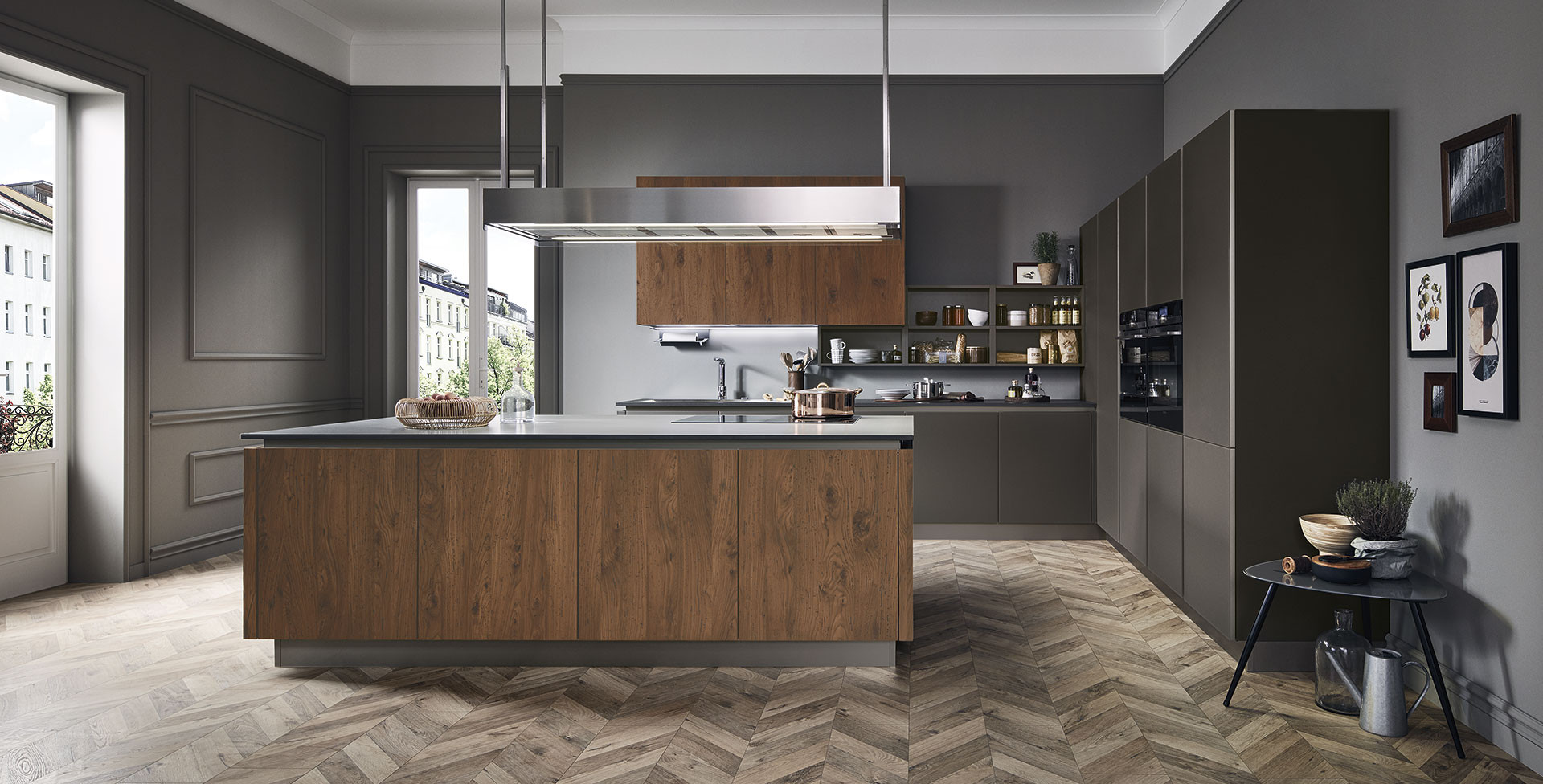 Ante Cucina In Vetro.Kitchen Ri Flex Veneta Cucine