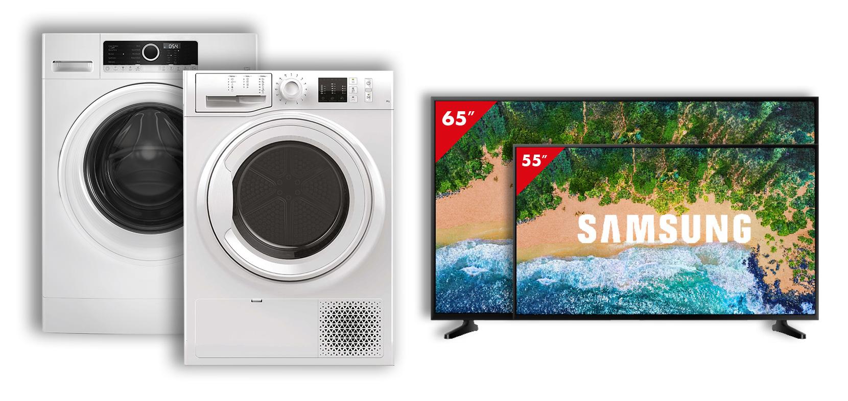 Progetta il tuo futuro - Lavatrice, Asciugatrice, Smart TV 4K