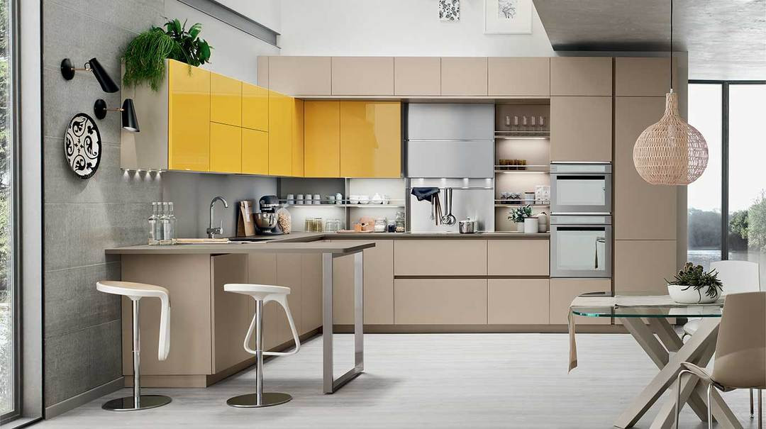 Showroom Veneta Cucine Brescia.New Catalogue Colours Veneta Cucine